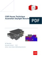 Csr House Technique Australian Daylight Benchmarks