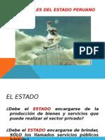 Los Roles Del Estado Peruano.