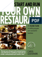 How to Run Your Own Resto
