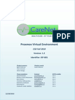 CareNet Fall 2010 ISP 001 Proxmox Virtual Environment v1.2