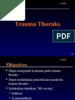 13 EMS - Trauma Thoraks