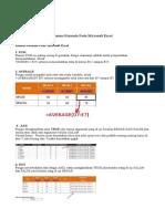 Rumus Formula Ms. Excel (Dicky Yunus)