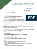 Nigerian National Petroleum Corporation  July 2015 Directive
