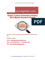 Global Turbine Flowmeter Industry 2015 Market Research Report