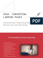 Copywriting Hacks to Increase Landing Page Conversion
