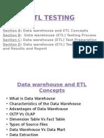 ETL Testing ppt