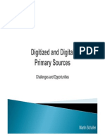 Presentation Digital Ized Sources