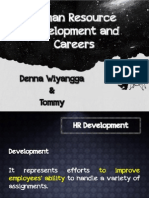 Human Resource Development and Careers