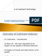 Overview of Lubricant Technology-Dr. Gamini Amarasekera