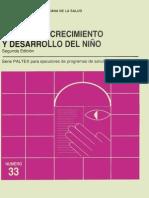 Manual de Crecimiento y Desarrollo Del Niño