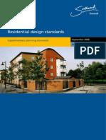Residential Design Standards SPD