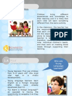 Young Language Learners Characteristics