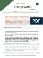 Guía Derecho Romano