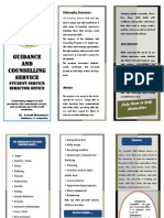 Wollo University Guidance and Counselling Brochure