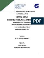 Kertas Kerja BIG Bengkel Pengurusan Pendidikan