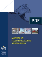 Manual on Flood Forecasting and Warning