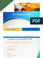 Customer Relationship Management ERP Software-eresource nfra ERP