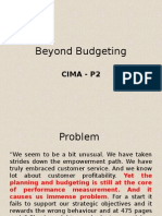 Beyond Budgeting Refined