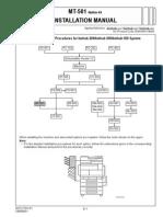 MT-501 Instalation Manual