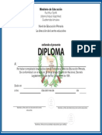Diploma Nivel Primaria 2014