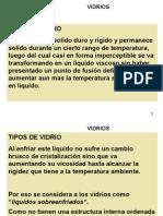 CLASIFICACION DE VIDRIOSS