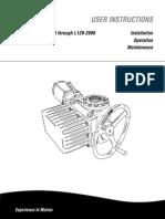 Manual Actudaor L-120