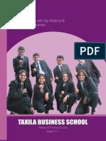 Taxila Business School Prospectus 2010