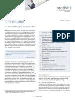 The Bulletin Vol 5 Issue 2 10 Keys Managing Reputation Risk Protiviti
