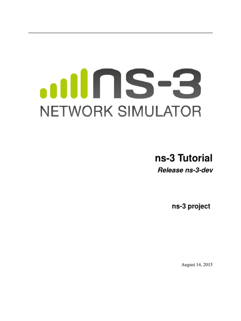 Ns 3 Tutorial | Library (Computing) | Network Socket