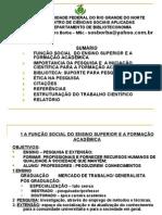 Metodologia Do Trabalho Cientifico - Borba UFRN