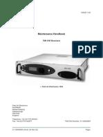 Pae Receiver Type t6r Maintenance Handbook