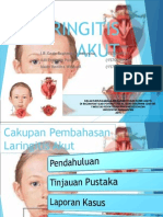 Laryngeal Pathologies