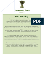 Past Mending - Sheaves of Grain - 8