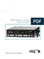 Pae Transceiver t6m Maintenance Manual
