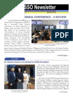 IFSSO IFSSO Newsletter, Volume 6 Issue No. 2 April-June 2015ewsletter Apr-June 2015