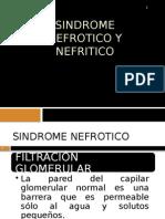 5. Sindrome Nefrotico y Nefritico