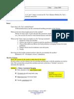 Adv Needle 2 - Study Guide Quiz 2