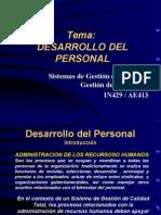 3 Desarrollo Del Personal 1-2012
