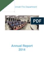 Cincinnati Fire Department Annual Report 2014