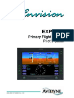 Avidyne Envision EXP5000 Primary Flight Display Pilot's Guide - Avidyne - AGO08