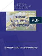 Livro Biblioteca Historia