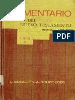 Comentario Del NT Tomo IV Hebreos hasta Apocalipsis (L. Bonnet - A. Schroeder)4