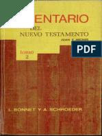 Comentario Del NT Tomo II - Juan y Hechos (L. Bonnet - A. Schroeder)