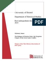 Award Winning Dissertations of 2015