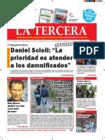 Diario La Tercera 14.07.2015