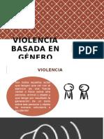 Violencia Basada en Género