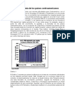 La Economía de Los Países Centroamericanos