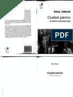 Ciudad Del Panico, Virilio.