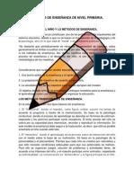 PRINCIPIOS PEDAGOGICOS DEL PLAN DE ESTUDIOS