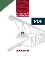 Canam Catalogue Poutrelles
